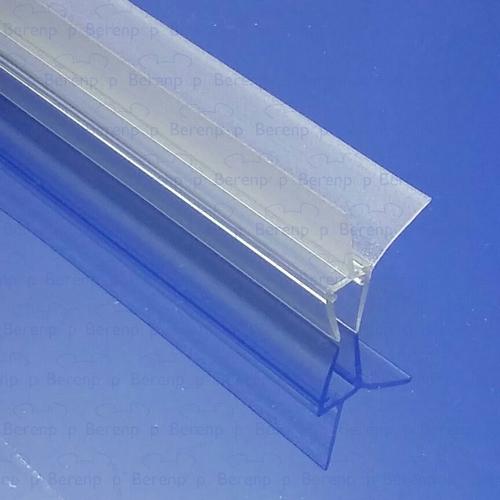 Afbeelding 3 Exa-Lent Universal DS011005 - G05021100 helder doucheprofiel 2 flapjes 100cm - 5mm