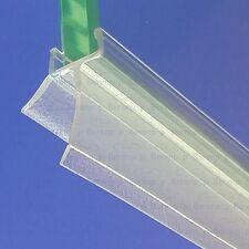 Dit doucheprofiel kan alléén worden toegepast bij kwartronde en halfronde douchewanden. Het flapje kan op maat gemaakt worden zonder gereedschap (20mm of 13mm)