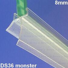 San4U ProfileDay monsterstukje doucherubber type DS36 - 2cm lengte en geschikt voor glasdikte 8mm - 2 flapjes